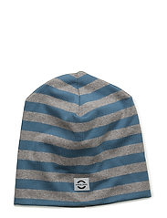 Striped hat cotton - 270/DARK BLUE