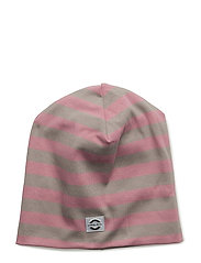 Striped hat cotton - 516/DUSTY ROSE
