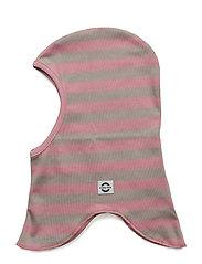 Striped fullface - 516/DUSTY ROSE