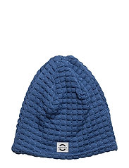WOOL hat - Square - 221/DELFTBLUE