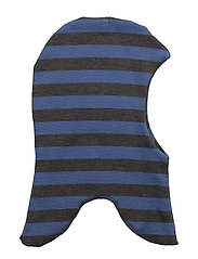 WOOL fullface - Stripes/windstop - 221/DELFTBLUE