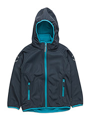 Softshell boy jacket - CYAN BLUE 232