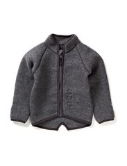 Fleece jacket baby wool - 916/175-189 M MELANGE/GRA.
