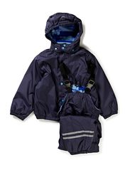 PE Rainwear with fleece lining - 286/DARK MARINE
