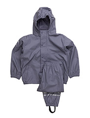 Rain Wear, PU - Basic - DARK SYREN 718