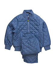 Termo set w. fleece in jacket - BLUE VIOLET