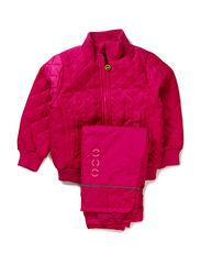 Termo set w. fleece in jacket - 525/PINK