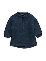 Wool Pullover - MELANGE TAHITI
