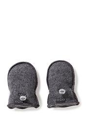 Wool mittens - 916/Melangegrey