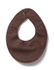 Small bibs/hagesmæk - 480/DARK BROWN