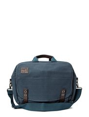 Martin the Courier Bag - Grey Blue