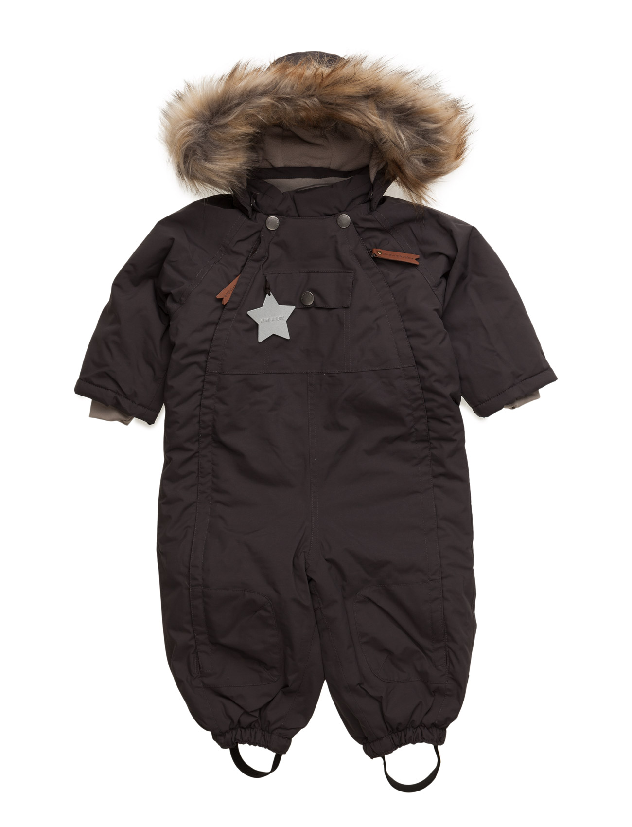 Wisti Faux-Fur, M Mini A Ture Overalls til Børn i
