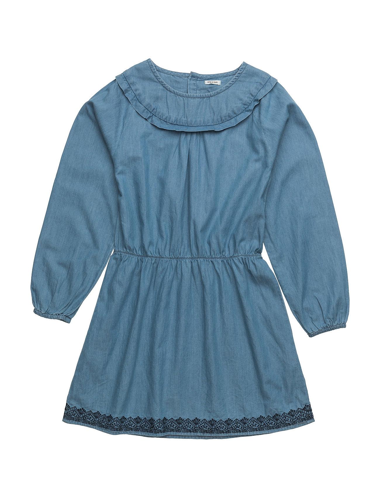 Fransiska, K Dress Ls Mini A Ture Kjoler til Børn i