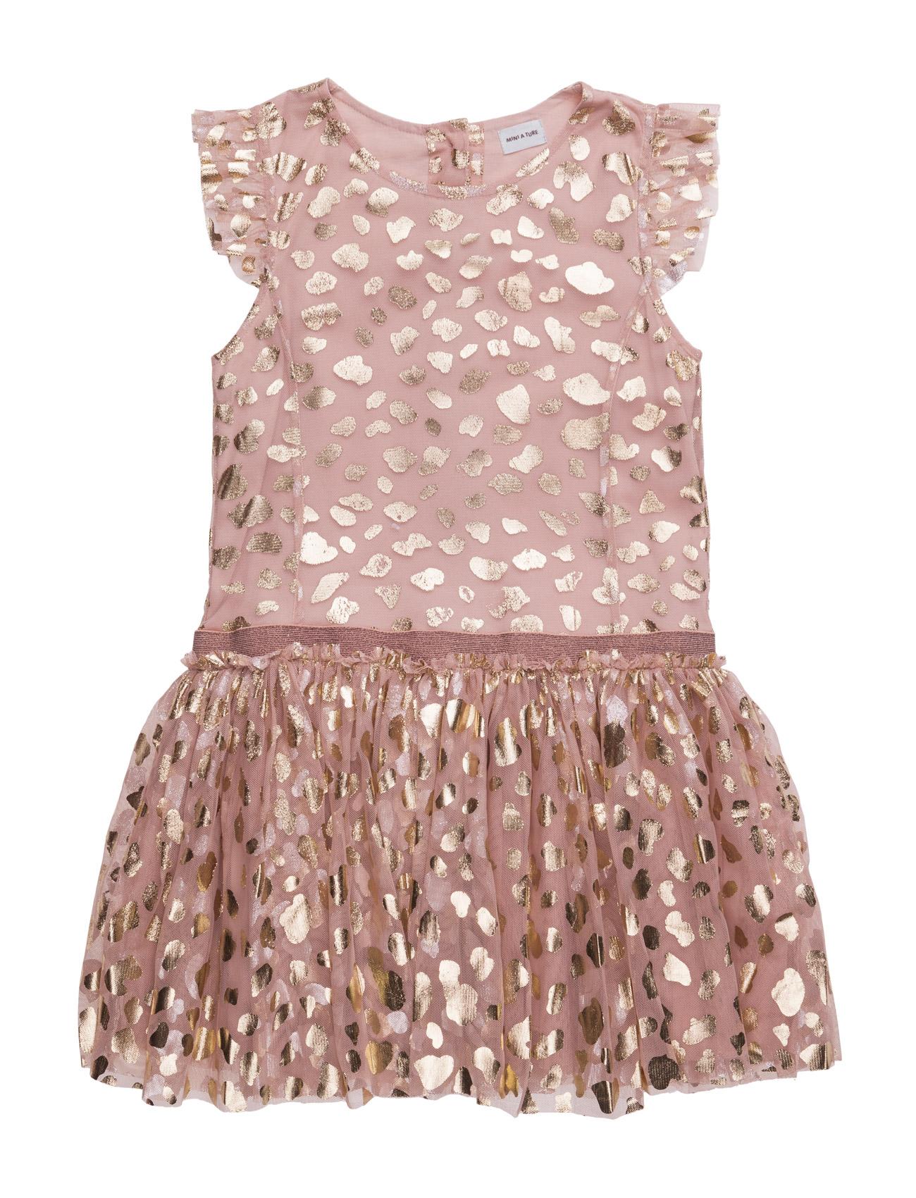 Diona Dress Ls Mini A Ture Kjoler til Børn i