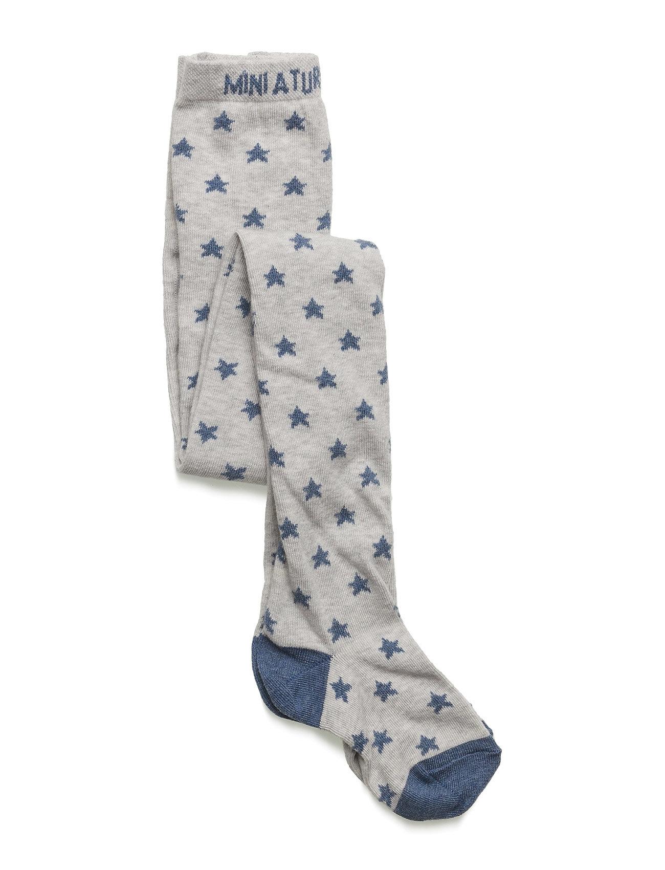 Riff, Bm Stocking Mini A Ture Strømper & Strømpebukser til Børn i Light Grey Melange