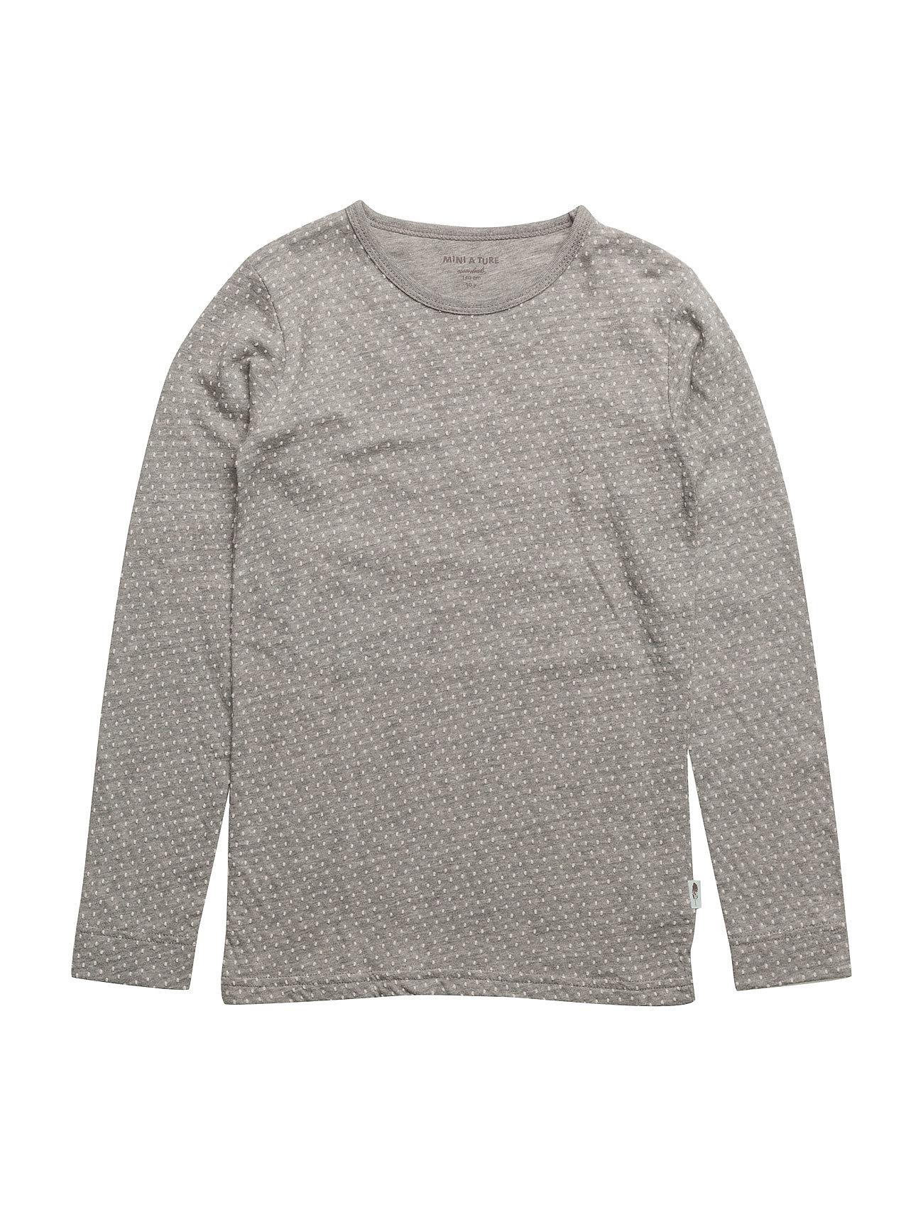 Eddy T-Shirt, Mk Mini A Ture Langærmede t-shirts til Børn i Light Grey Melange