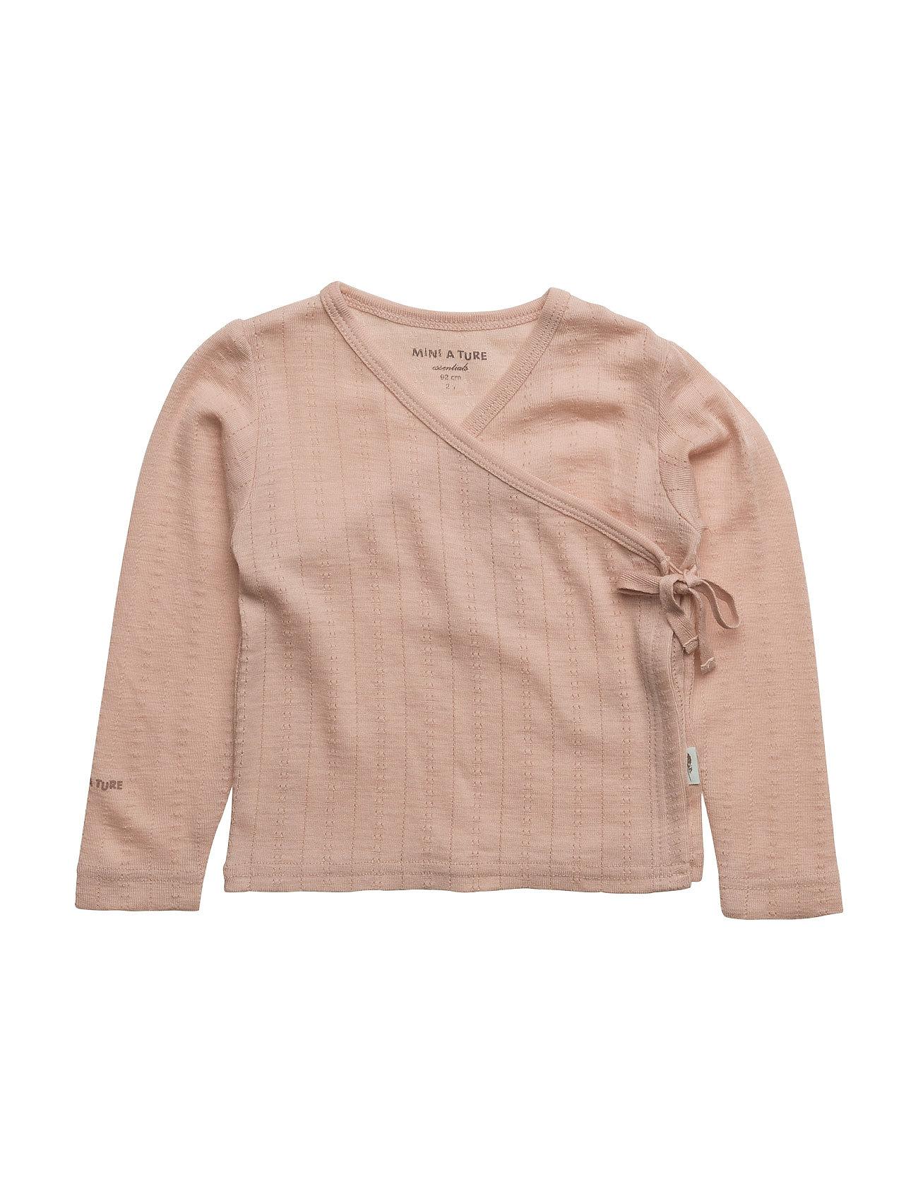 Europa Blouse, B Mini A Ture Langærmede t-shirts til Børn i Rose Dust