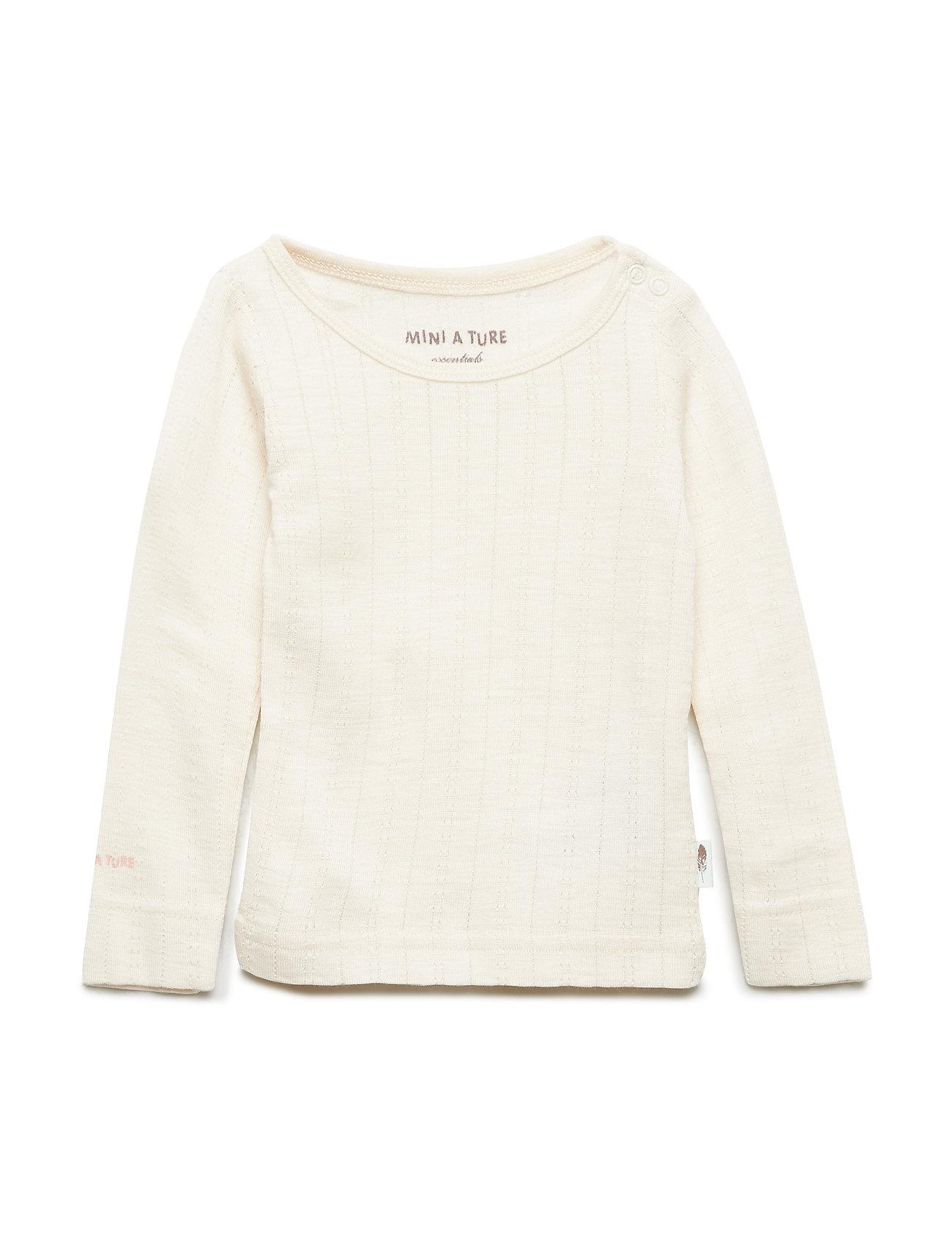 Eddy T-Shirt, Mk Mini A Ture Langærmede t-shirts til Børn i Sandshell