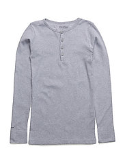 Mico, K T-shirt - GREY MELANGE