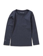 Eli T-Shirt LS - Ombre blue