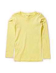 Eli T-Shirt LS - Limelight