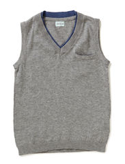 Buddy Vest - Grey melange