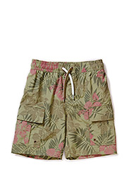 Mikee Shorts - Dusky Green
