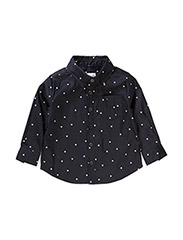 Jeppe Shirt LS - SKY CAPTAIN BLUE