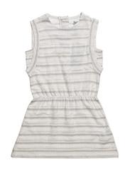 Zelia Dress SS - ANTIQUE WHITE