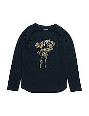 Britha, MK T-Shirt LS - SKY CAPTAIN BLUE