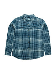James, K Shirt LS - BLUE WING TEAL