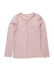 Elianor T-Shirt LS - ROSE DUST