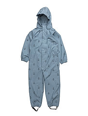 Reinis SS Print, M Snowsuit - ASHLEY BLUE