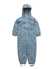 Reinis SS Print Lining, M Snowsuit - ASHLEY BLUE