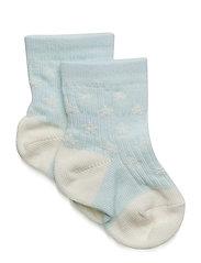Elvig, B Socks - PASTEL BLUE