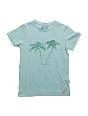 Palmtree, MK T-Shirt SS - AQUATIC BLUE
