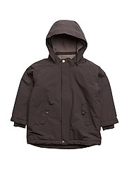 Wally, MK Jacket - DARK COFFEE