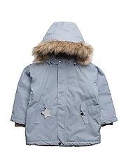 Wally Faux Fur, MK Jacket - BLUE FOG