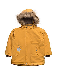 Wally Faux Fur, MK Jacket - MINERAL YELLOW
