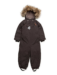 Wisti Faux Fur, M Snowsuit - DARK COFFEE