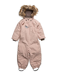 Wisti Faux Fur, M Snowsuit - ROSE SMOKE