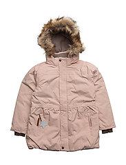Viola Faux Fur, K Jacket - ROSE SMOKE