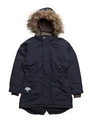 Vibse Faux Fur, K Jacket - BLUE NIGHTS