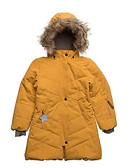 Wega Faux Fur, K Jacket - MINERAL YELLOW