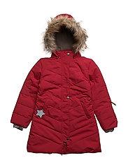Wega Faux Fur, K Jacket - SCOOTER RED