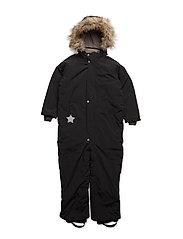 Wanni Faux Fur, K Snowsuit - BLACK