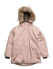 Viola Faux Fur, K Jacket - ROSE SMOKE