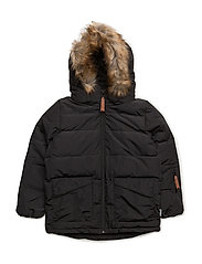 Daren Faux Fur, K Jacket - BLACK