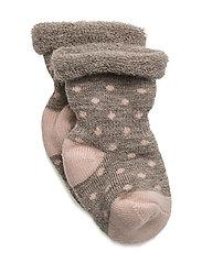Elinora Socks, B - ROSE DUST