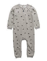 Benoit Romper, B - LIGHT GREY MELANGE